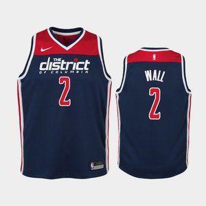 Women Washington Wizards John Wall Jersey